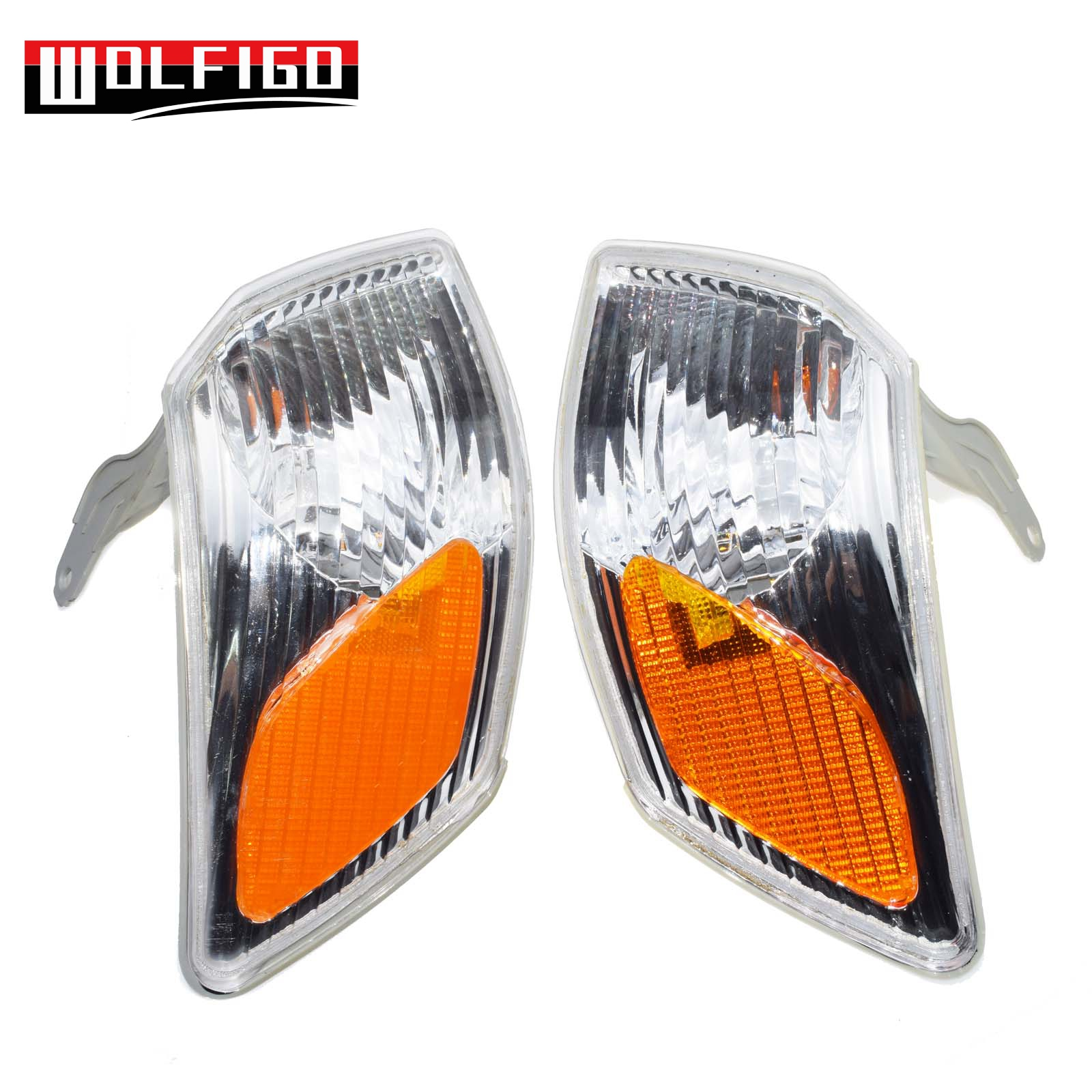 Corner Lights Housing Left+Right Fit 00-01 Toyota Camry 81520-AA020// 81510-AA020