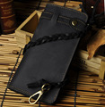 Top Quality Hot Sale Cattle Male Organizal Vintage Bifold Genuine leather Card Cash Coin Holder Checkbook Wallet Purse 3377