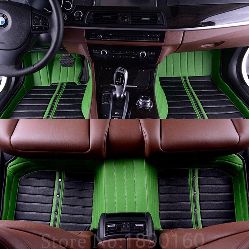 Custom Car Floor Mats For Mats For Cadillac SLS ATSL CTS XTS SRX CT6 ATS Escalade