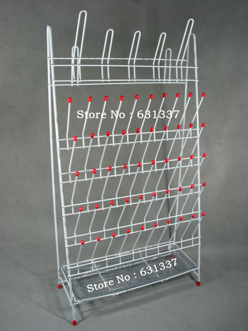 laboratory draining rack 650x360mm 55position laboratory draining rack 650x360mm 55position