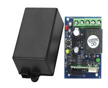 Universele DC 12 v 1 channal draadloze afstandsbediening 315 MHZ/433 MHZ ontvanger Relais Ontvanger Module voor Licht
