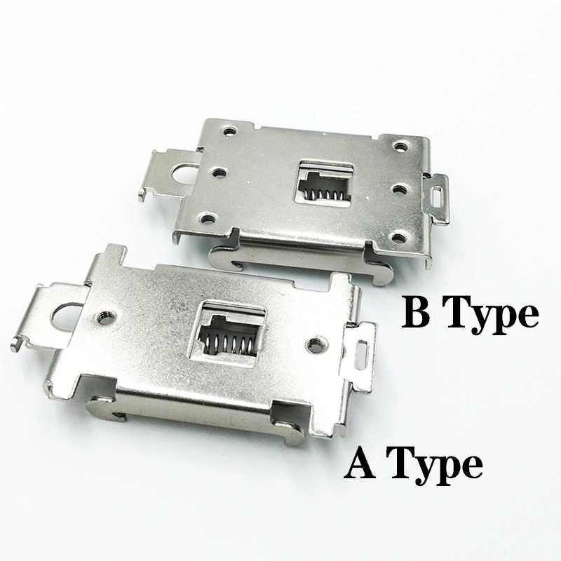 35MM DIN Schiene Festkörper Halbleiter Relais Clamp Solid State Relay Clip Kit