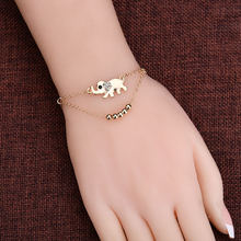 2018 Hot Ankle Bracelet Foot Leg Chain With Gold Color Elephant Charm Sexy Vintage Women Foot Jewelry For Girl Best Friend Gifts(China)