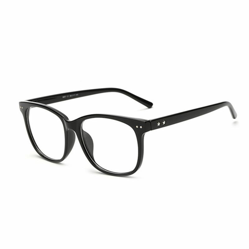 Armações de óculos Retro Homens Mulheres limpar Quadro Designer de Óculos  vidros do Olho Óptico Óculos de Armação armacao de para Oculos de grau 8f7046bdc7