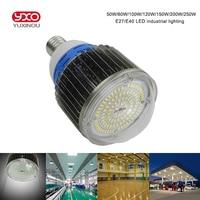 1pcs Lot E27 E40 70w 80w 90w 100w Led High Bay Light Campana Led Lampara Industrial