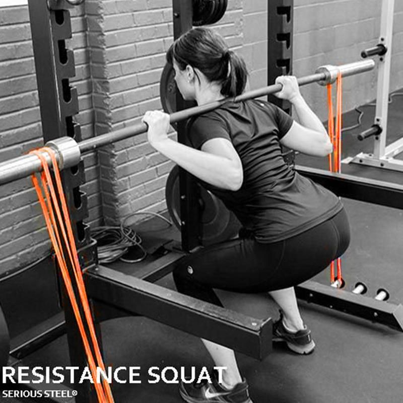 Эластичные ленты, тянущиеся резиновые ленты-эспандеры унисекс для тренировок, пилатеса, фитнеса-2