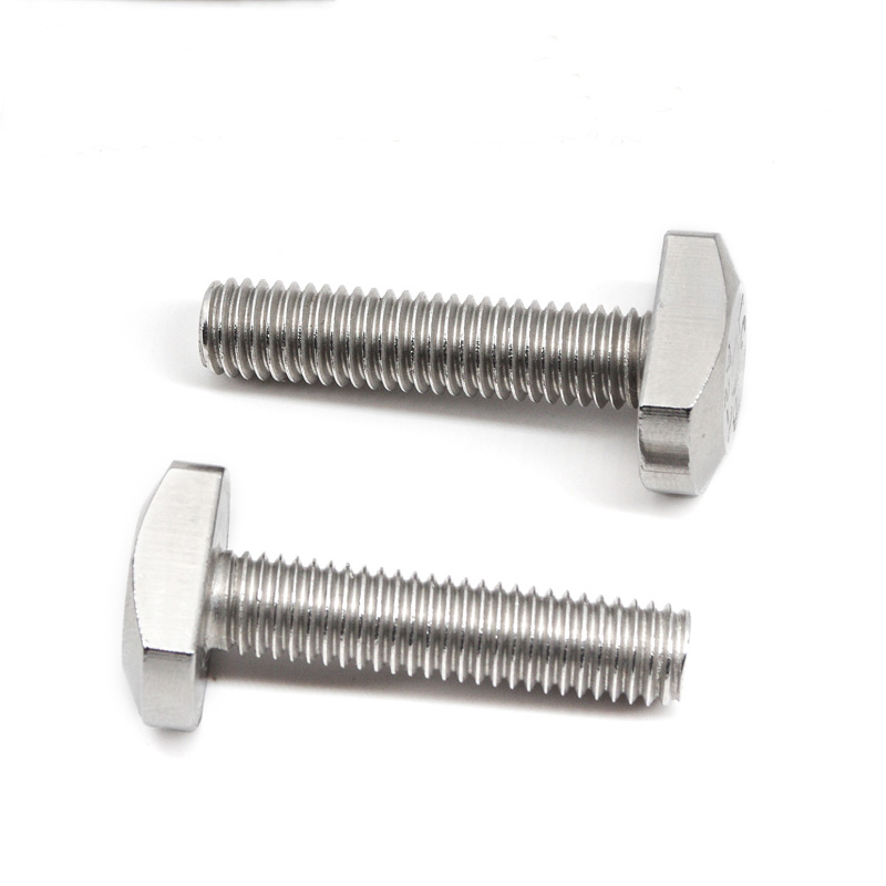 2pcs M10 stainless steel T-type screw plate screws home decoration bolts 45mm-65mm length