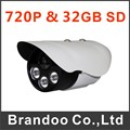 Hot sale HD 720P SD camera, outdoor auto recording camera, 32GB micro sd card used, 25 meters IR night vision model BD-404HD