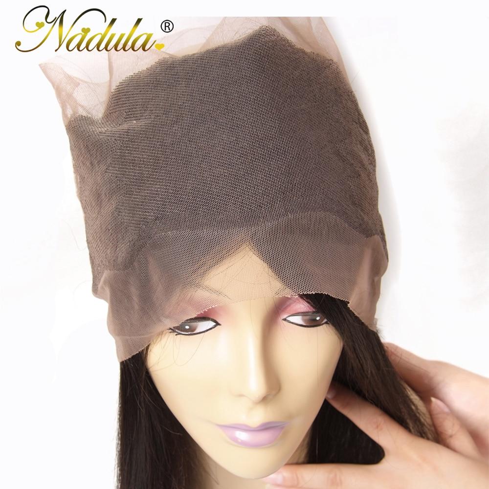 Nadula Hair  Straight Hair 360 Lace Frontal 100%  Natural Color 10-20inch  Hair Free Part Closure 5