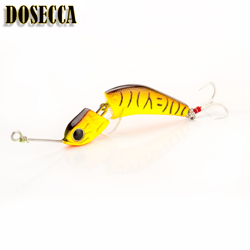 Minnow Hard Lures Sinking 7g/18g  Fishing Bait Winter Fishing Free Shipping 2 Section Fish