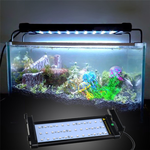 fish and aquarium hood lighting 16 color changing remote controlled dimmable led light for aquarium