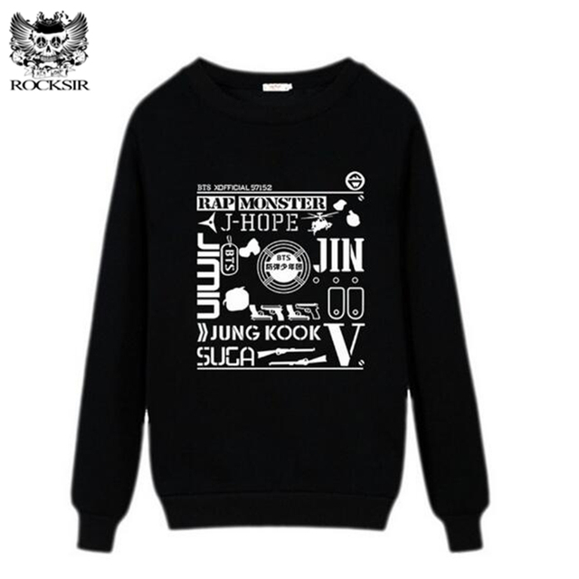 Aliexpress.com : Buy Rocksir BTS Kpop Women Pullovers Sweatshirt ...