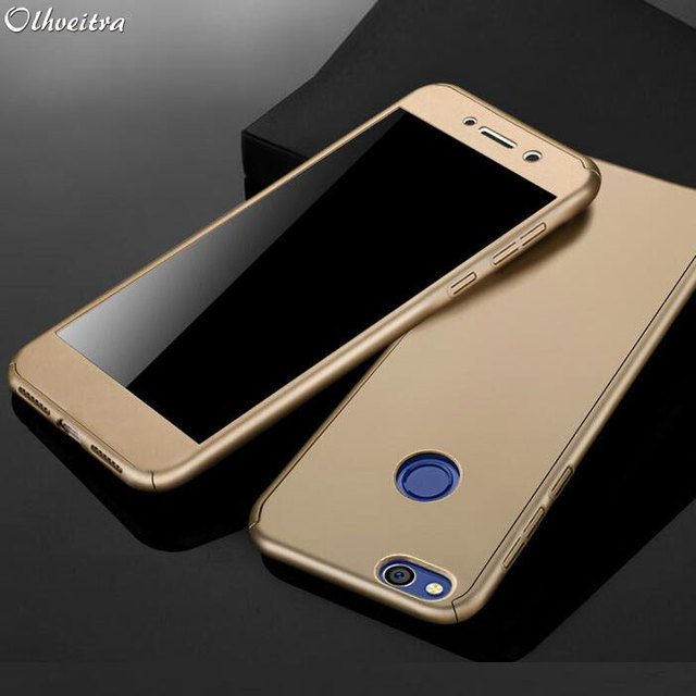 new styles ffa20 077c3 US $2.84 43% OFF|For Huawei Honor 8 Case Back Cover 360 Degree Protection  Phone Housing Cases With Tempered Glass Flim For Huawei Honor 8 Fundas-in  ...