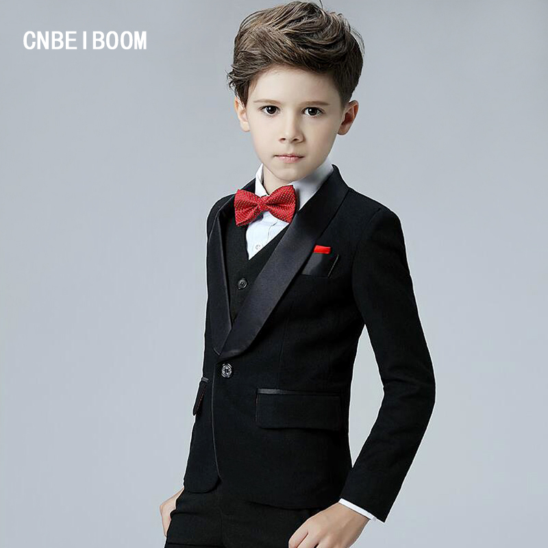 5pcs Sets Blazers Baby Boys Formal Clothing Kids 3-12T Jacket Pant Suit For Wedding/Tuxedo Suits Dress Boy Prom Gown Clothes hot sale top quality baby boys spring autumn casual blazers jacket wedding suits for boy formal children clothing kids prom suit
