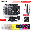 Action Camera Full HD 1080P Gopro Hero4 Style Wifi 170 Degree Waterproof 30M Sport Camera Aluminum