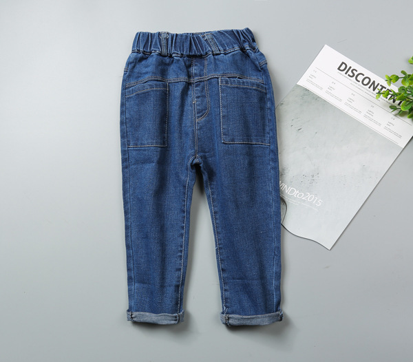 Kids Jeans for girls children's jeans for boys Pants Jeans Children's Denim Trousers Baby Boy Harem Pants Spring Autumn 2017 INS