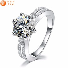 Casi New Luxury Classic Ring Round Gold Plated Zircon Crystal Fashion Women Finger Rings for Party Gift Wedding Bridal Bride new classic luxury fashion ring 4 valve flower gold color crystal adjusted ring women cz diamond finger rings for party wedding