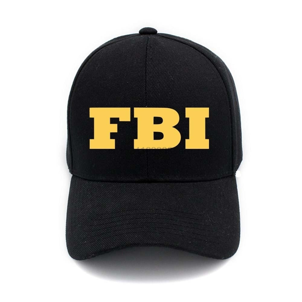 Detail Feedback Questions about Cool Fbi Logo Print Fashion Unisex Baseball  Cap Outdoor Casual Summer Hip Hop Caps Snapback Hats For Men And Women on  ... eed21388d328