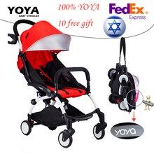 100% ORIGINAL YOYA stroller Travel Baby pram Wagon Portable Folding Baby Stroller 5.8kg Lightweight Prams with 10 free gifts