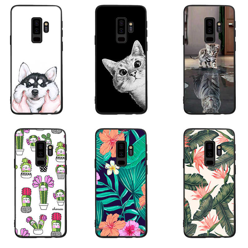 Pattern Case For Samsung Galaxy S9 S8 A9 A6 A8 Plus 2018 A7 A5 A3 2017 J5 J7 J3 2016 J2 Pro S7 S6 Edge Note 8 9 Silicon Cases