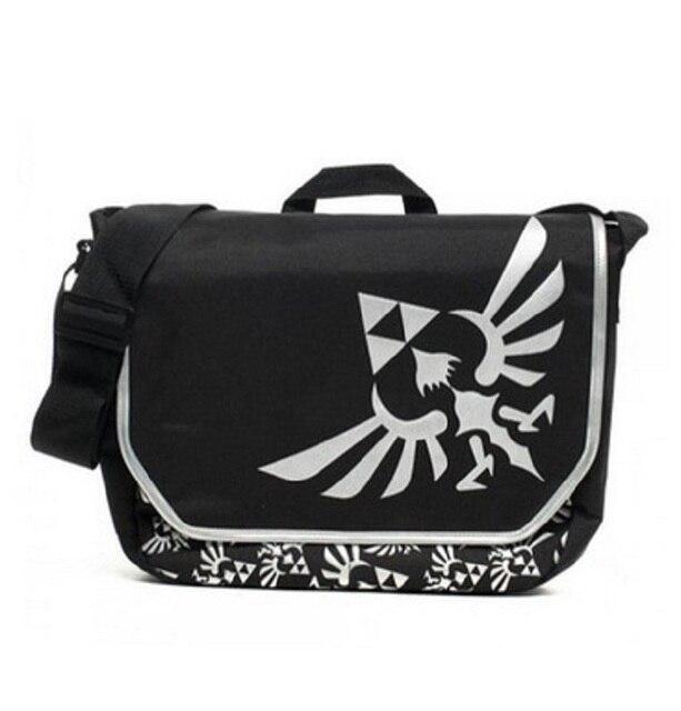 Nintendo The Legend Of Zelda Triforce Messager Bag Laptop Shoulder