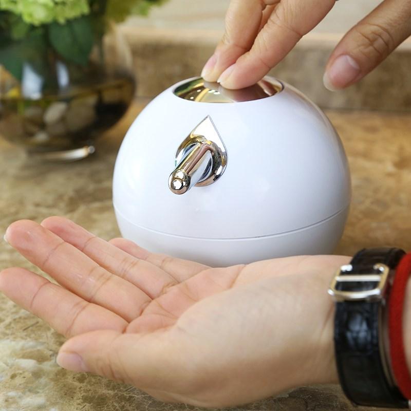 380ml Ball shape Liquid Soap Dispensers pump shower shampoo bottle hand sanitizer container Bathroom Accessories