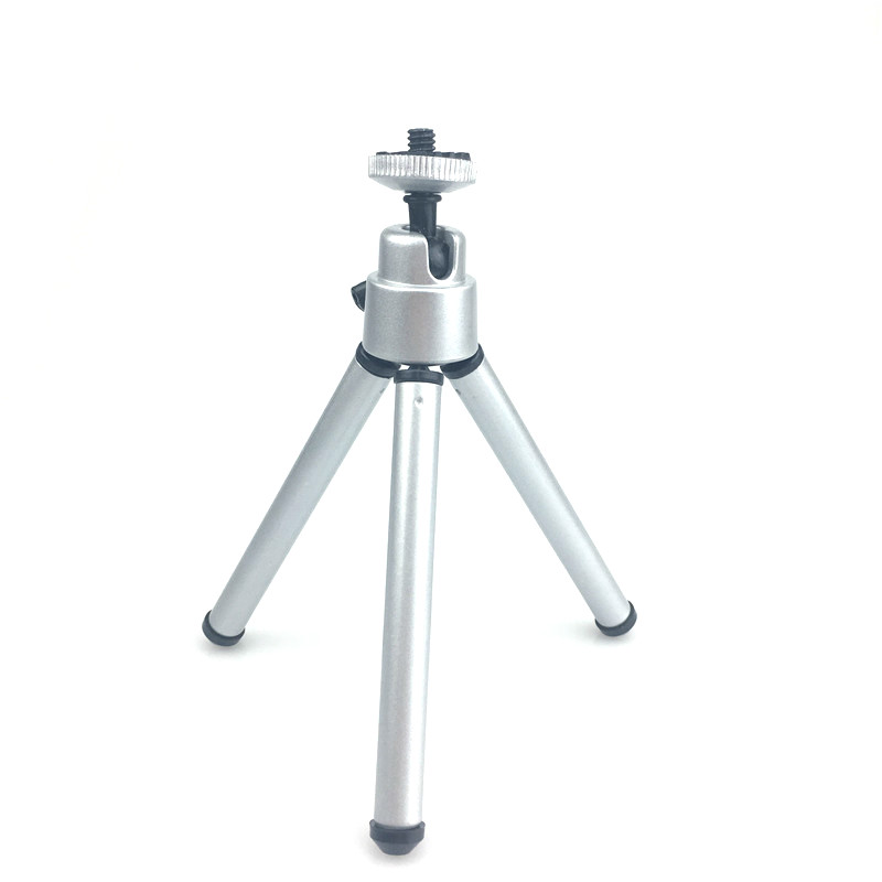 Mini Tripod With Phone Clip Aluminum Metal Live Tripods For Iphonexiaomi Phone Stand Mount For Nikon Gopro 5 4 Session Yi Camera Selected Material Live Tripods Back To Search Resultsconsumer Electronics