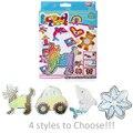5mm perler beads hama beads fuse 4 Estilo de dibujos animados de hierro niño handmaking diy juguetes educativos/SD-53B