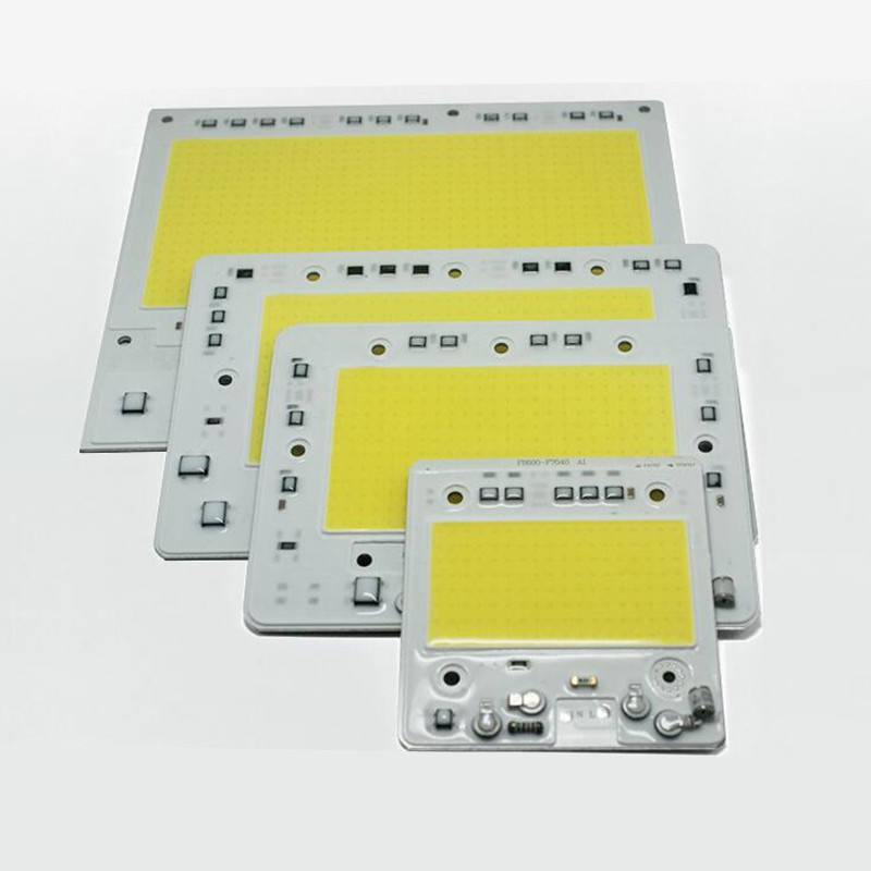 50w/100w/150w 200w LED COB AC220V Light Module LED Chip Floodlight Lamp SMART IC City Power White/warm White Free Shipping 1pcs