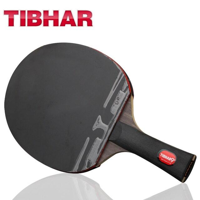 Tibhar Pro rakietka do tenisa stołowego gumowe pryszcze w ping pong rakiety wysokiej jakości z torba 6/7/8/9 gwiazdek