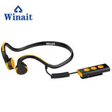Winait sports digital bone conduction bluetooth headset/wireless headset, music player free shipping