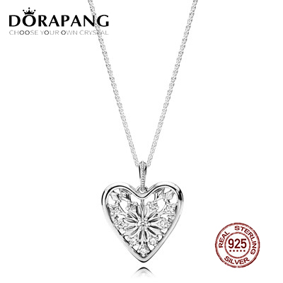 DORAPANG Hearts of Winter Original Copy Necklace Has Logo 100% 925 Sterling Silver Foundation Manufacturer Wholesale Free Mail
