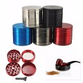 New 4 Layer Broken Smoke Grinder Metal Tobacco Grinder Smoking Pipe Herb Grinders Weed sigaretten maker moledor de hierba