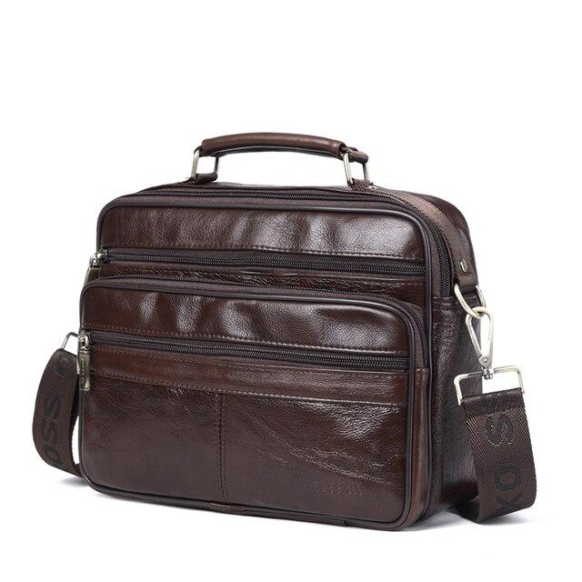 Кожаная сумка CROSSOX в классическом стиле SL420
