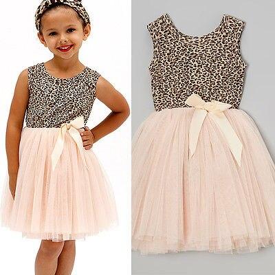 Princess Dress Baby Girl Bow Evening Dress Summer Sunglasses Girl Dress