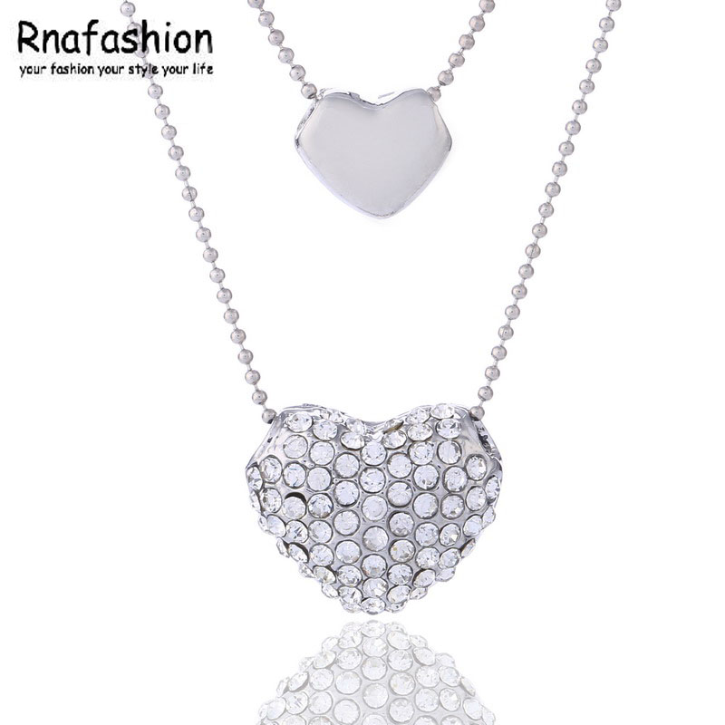 Fashion crystal jewelry wholesale crystal necklace romantic temperament - Dependent spend 038 ...