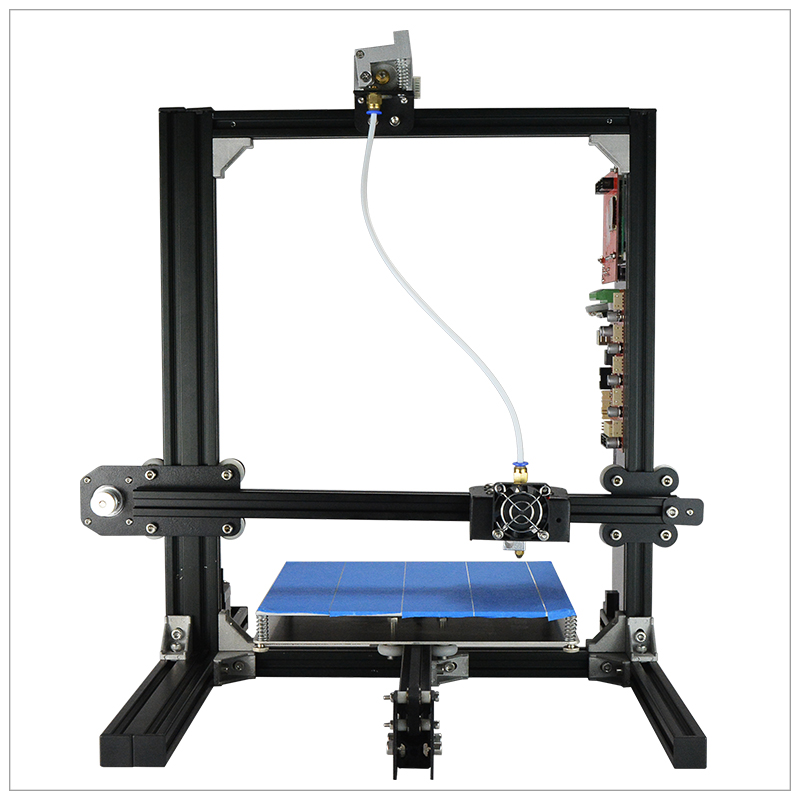 2017 LCD 3D Printer Kit Large Printing Size 3D Printing Machine 3D Impresora With 1kg Free