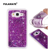 FULAIKATE For Samsung Galaxy J2 Prime Glitter Bling Soft Back Cover Case for Samsung G530 G532F Dynamic Phone Protective cases