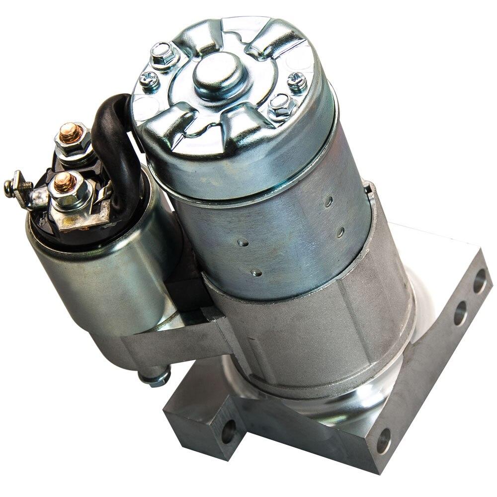 Démarreur pour GM SBC BBC Chevy V8 petit bloc Super Mini couple élevé 153/168 dent MT à 19695 80-19695 8019695 S114823C