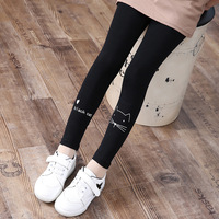 2016 Baby Girls Pants For Girls Leggings Spring Autumn Cute Cat Kids Toddler Pants Grls New