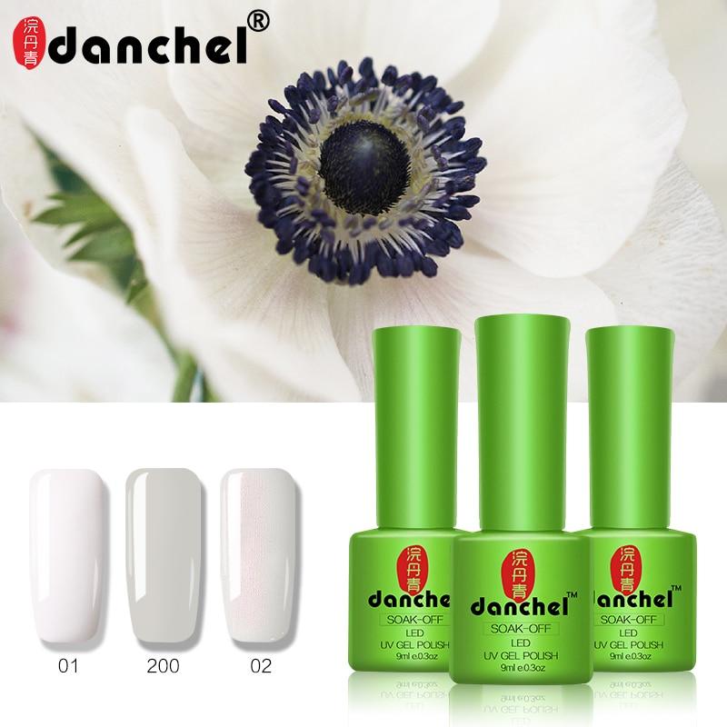 9 ml Gel sólido colores de moda UV Gel esmalte de uñas remojar ...