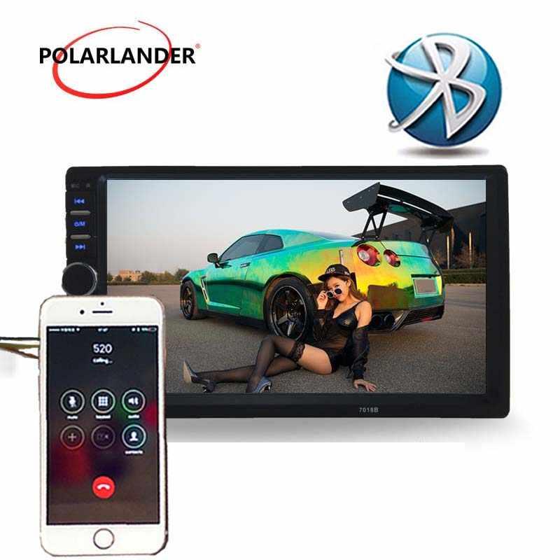 7 pollici 2 DIN Touch Screen Autoradio Auto Radio lettore di cassette radio Unità di Testa Stereo MP5 bluetooth Video TF/USB Specchio Link