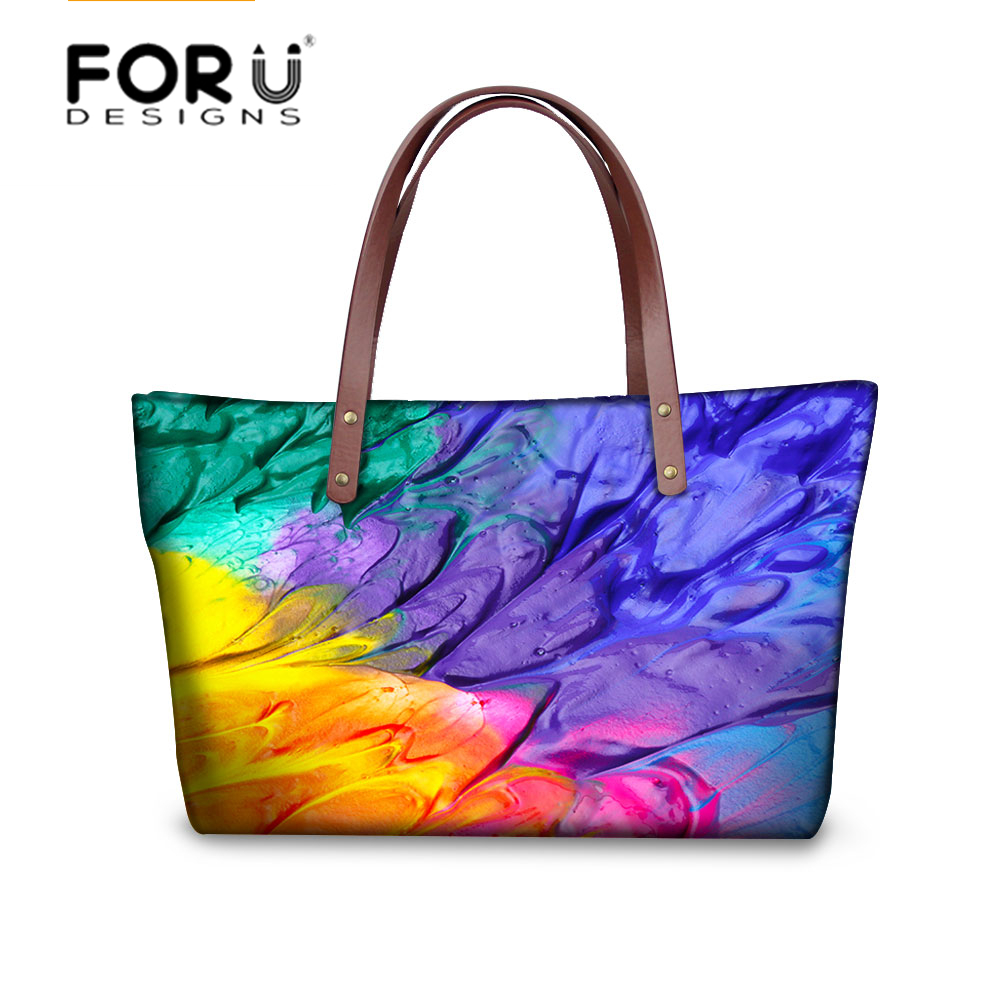 FORUDESIGNS Fashion Handbag for Women High Quality Causal Tote Bag Spanish Shouler Bag Crossbody Casual Large Bag bolsos mujer high quality authentic famous polo golf double clothing bag men travel golf shoes bag custom handbag large capacity45 26 34 cm