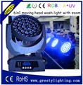36X18w RGBWA + UV 6 в 1 led uv сценические огни для хороших световых эффектов с функцией масштабирования
