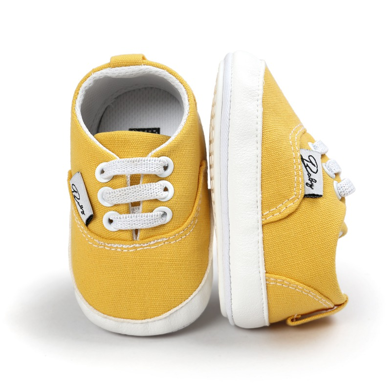 Yellow Baby Soft Sole Anti-skid Sneaker Shoes