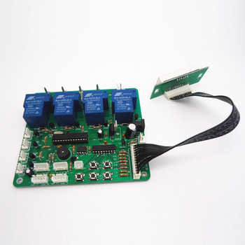 JY-21 multi timer board time control board 4 digits minte second coin operated power supply for 1-4 devices machines