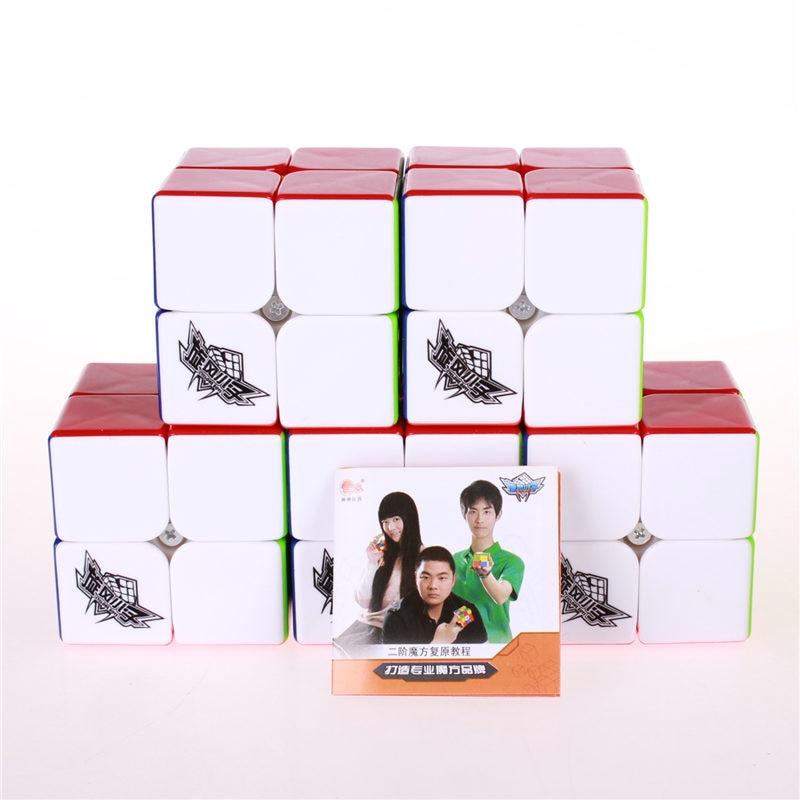 5pcs / set 2x2x2 Magic hastighet Cube puzzle Sticker mindre Speed - Puslespill - Bilde 2
