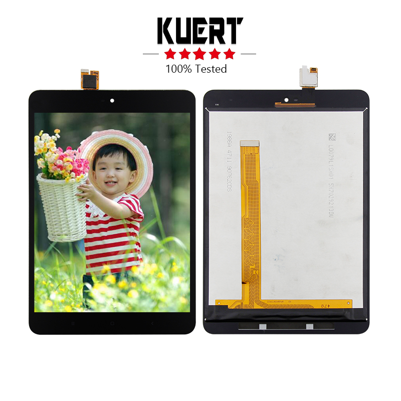 цена Free Shipping For Xiaomi mipad 2 Mi pad 2 Digitizer Touch Screen Lcd Display Assembly Replacement