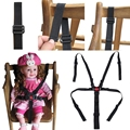 Portable Babies Chair Stroller Five-point Safety Belt Harness Stroller 5 Point Safety Belt Stroller Accessories Chair Belt Baby