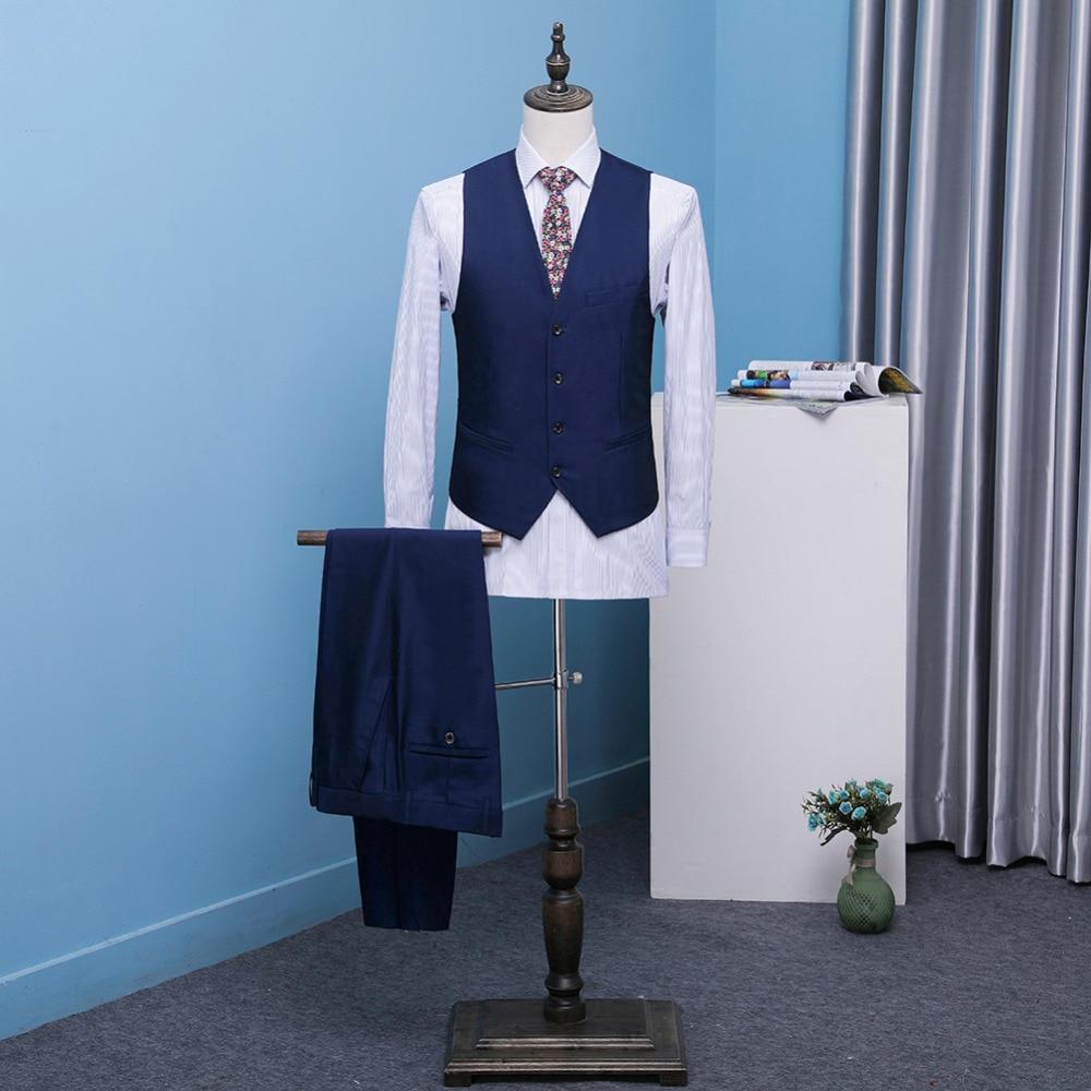 Mens 3 Pieces Classic Shawl Collar Tuxedos Jacket+Pant+Vest Wedding ...